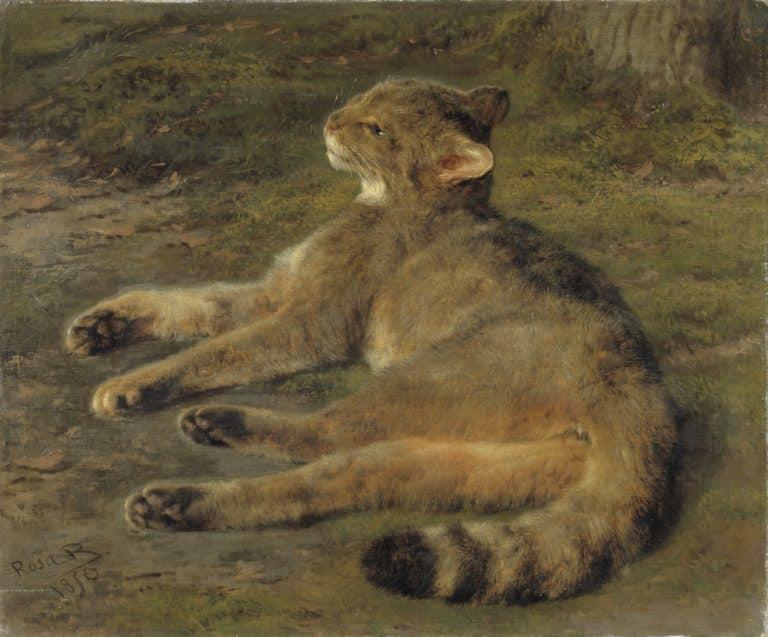 Rosa Bonheur Wild Cat 1850