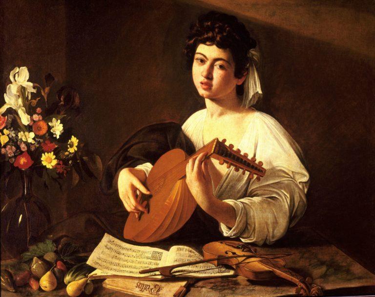 The Lute Player Caravaggio Hermitagebis