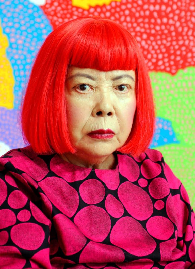 Yayoi Kusama cropped 1 Yayoi Kusama 201611