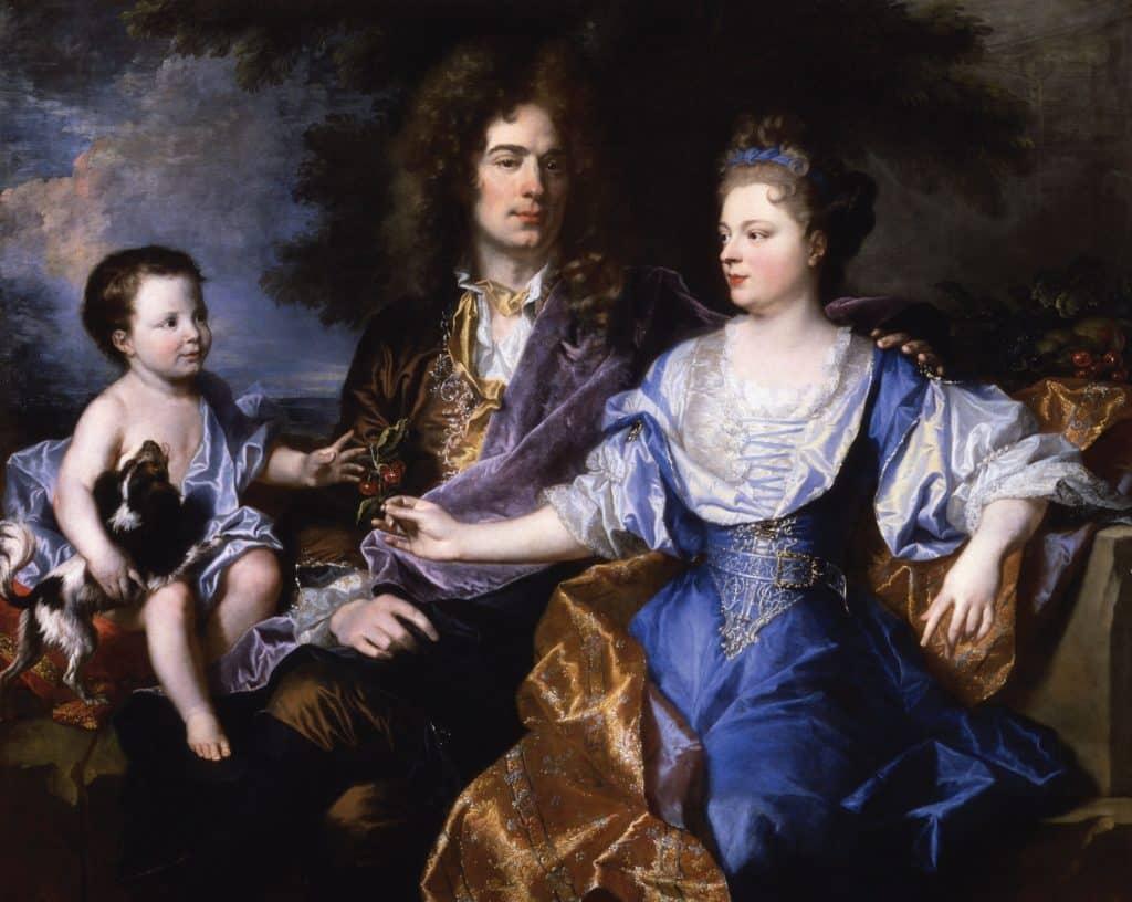 1692 la famille Léonard Louvre 1