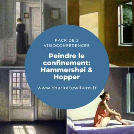 Peindre le confinement: Hammershøi et Hopper - Pack de 2 Visioconférences 1